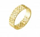 Gold Ring im Barcelona Blumen Design