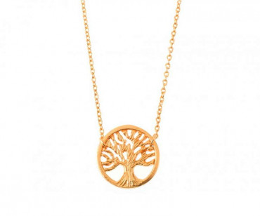 Gold Necklace - Tree of Life