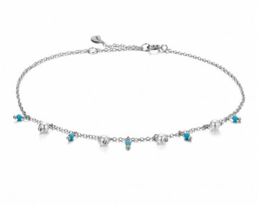 Charm Anklet Pearls