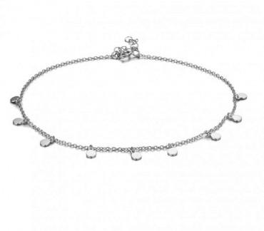 Charm Anklet Circles
