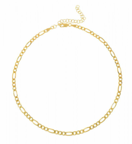 Choker Chain Gold Necklace